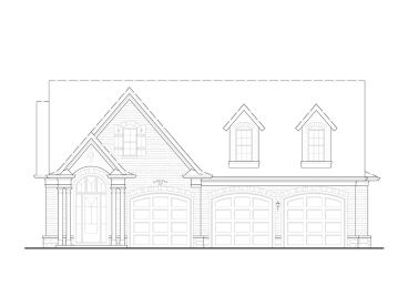 Carriage House Plan, 084G-0014