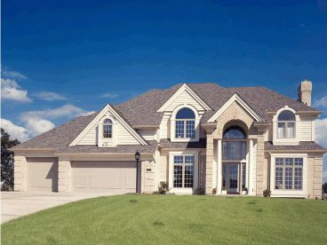 Two-Story House Plan, 031H-0052