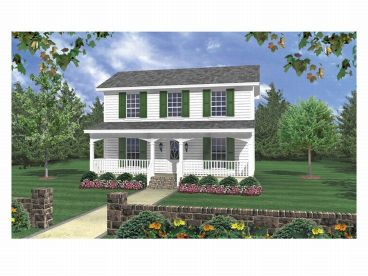 Small House Plan, 001H-0013