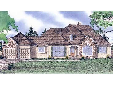 1-Story Home Plan, 009H-0035