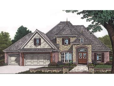 2-Story House Plan, 002H-0039