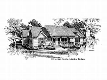 1-Story Home Plan, 004H-0020