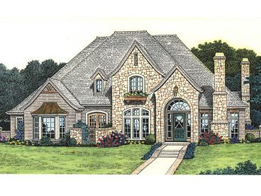 Luxury House Plan, 002H-0066