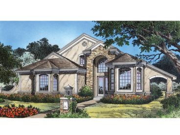Two-Story Home Plan, 043H-0119
