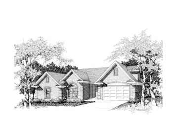 Traditional Home Plan, 061H-0048
