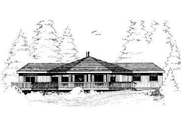 Contemporary Home Plan, 013H-0006