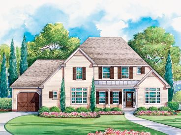 Country House Plan, 031H-0231