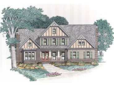 Craftsman European Home, 045H-0025