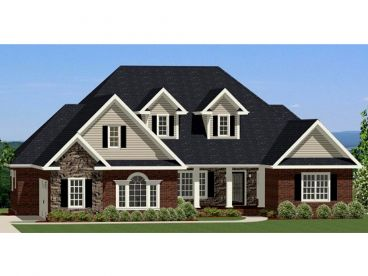 Two-Story Home Design, 067H-0053