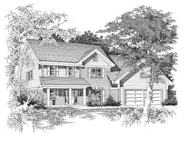 Traditional House Plan, 061H-0090