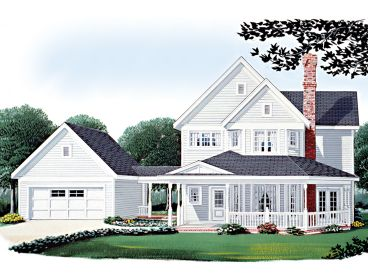 Country House Plan, 054H-0078