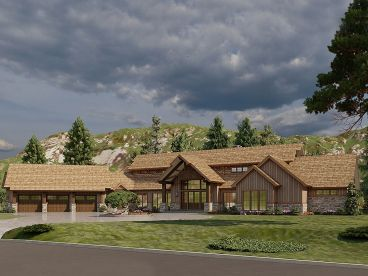 Mountain House Plan, 074H-0144