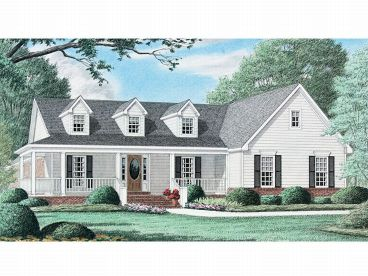 Country House Plan, 011H-0012