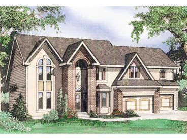 Two-Story House Plan, 009H-0057