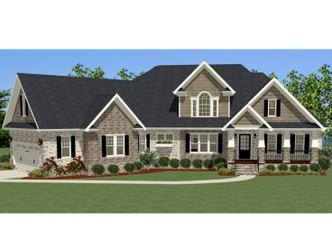 Traditional House Plan, 067H-0032