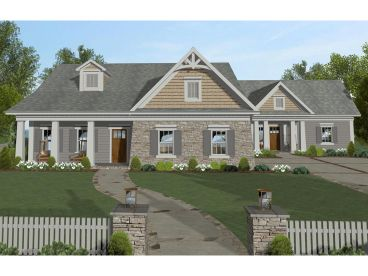 Multi-Generational House Plan, 007H-0144