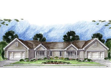 Multi-Family Home Plan, 050M-0003