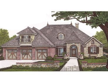 European House Plan, 002H-0029