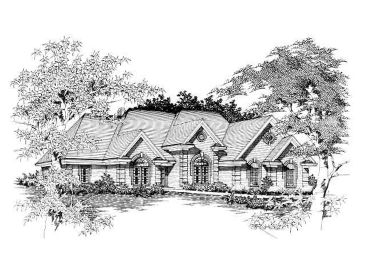 Two-Story House Plan, 061H-0101