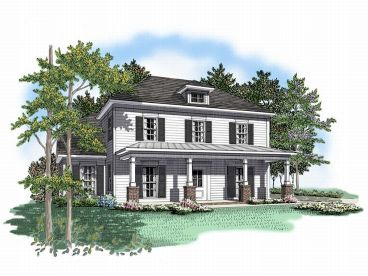 Two-Story Home Design, 019H-0058