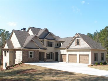 Craftsman House Plan, 019H-0150
