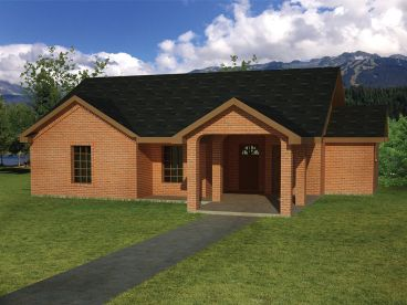 Small Home Plan, 068H-0018