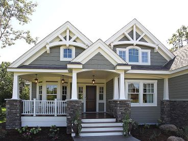 Craftsman Home Plan, 035H-0106