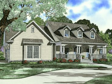 Country House Plan, 025H-0338