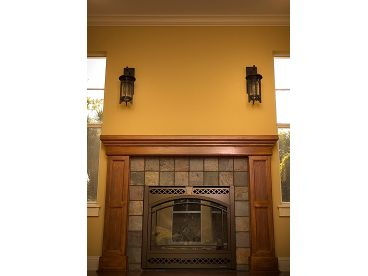 Fireplace Photo, 052H-0017