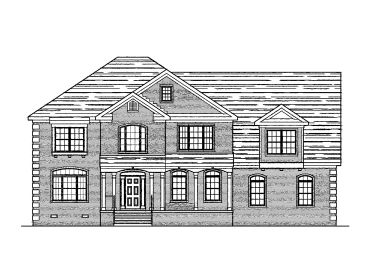 Two-Story House Plan, 058H-0027