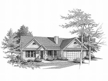 Affordable Home Plan, 019H-0039
