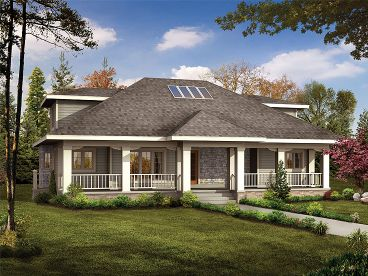 Two-Story House Plan, 057H-0011