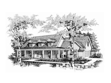 Two-Story Home Plan, 061H-0064