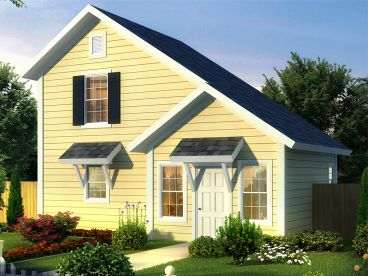 Tiny House Plan, 059H-0216