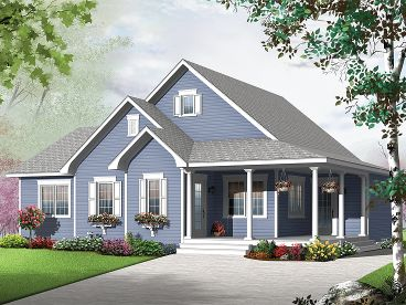 One-Story Home Plan, 027H-0312