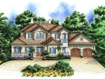 European Home Plan, 037H-0120