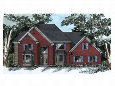 Two-Story Home Design, 023H-0048