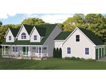 Country Home Plan, 068H-0028