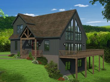 Waterfront House Plan, 062H-0208