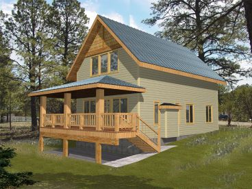Vacation House Plan, 012H-0152