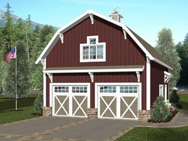 Carriage House Plan, 007G-0019