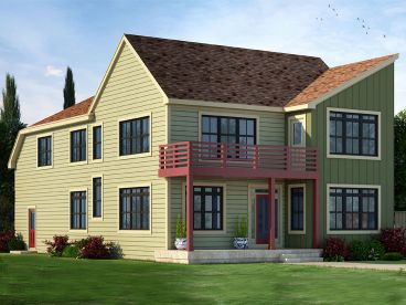 Unique House Plan, 031H-0275