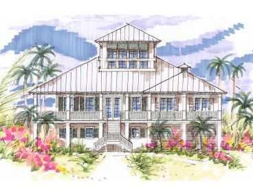 Luxury Beach Home, 041H-0111