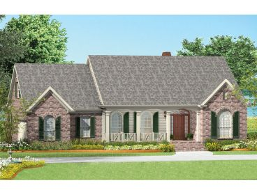 One-Story Home Design, 042H-0016