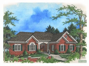 Traditional Home Plan, 007H-0080