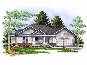 Small Home Plan, 020H-0045