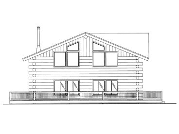 Small Log Home, 012L-0071