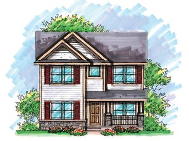 2-Story Home Plan, 020H-0201