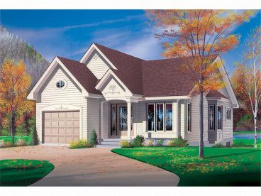 Love Shack House Plan, 027H-0004