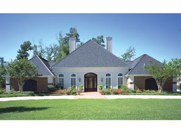 Luxury House Plan, 021H-0215